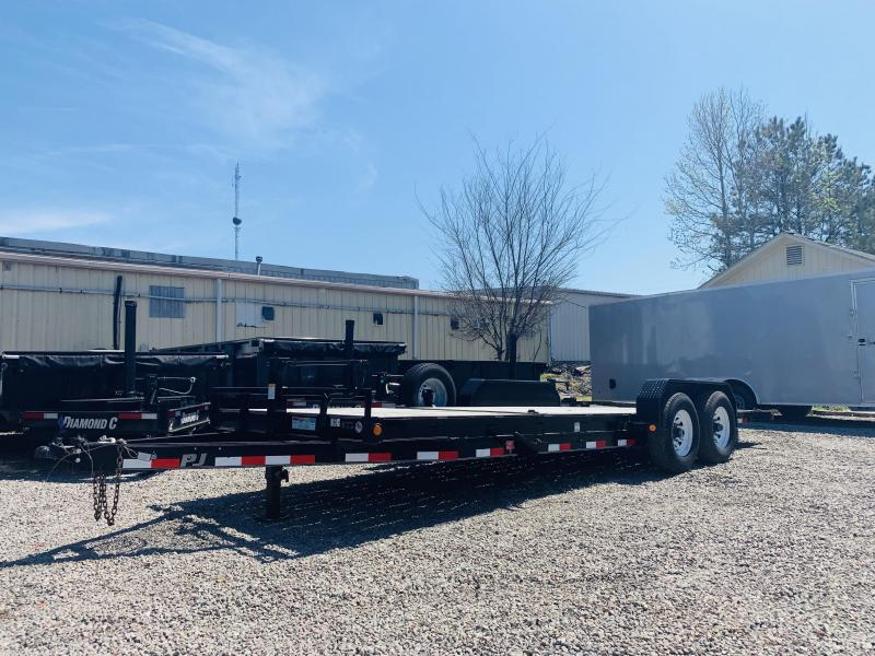 2016 PJ Trailers T6222 Equipment Trailer