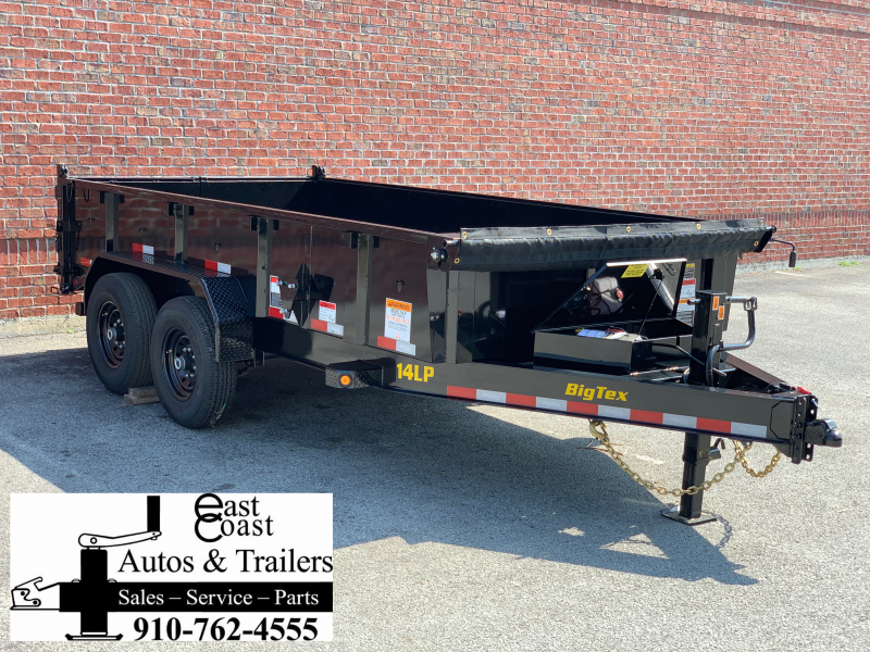 Big Tex 14LP-16' Low Profile Dump Trailer