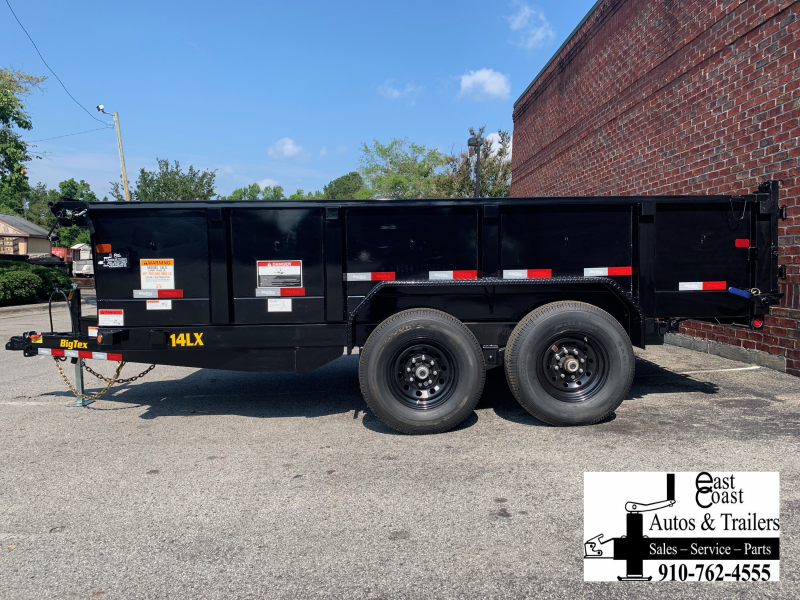 Big Tex 14LX (7' X 16') HD Dump Trailer with 14K GVWR