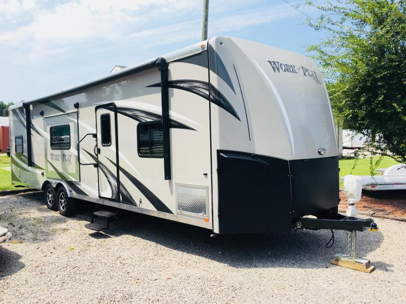 2016 Forest River Inc 36 WORK PLAY Travel Trailer