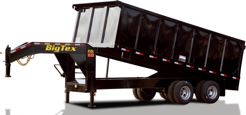 2019 Big Tex Trailers 20' Gooseneck Dump Trailer