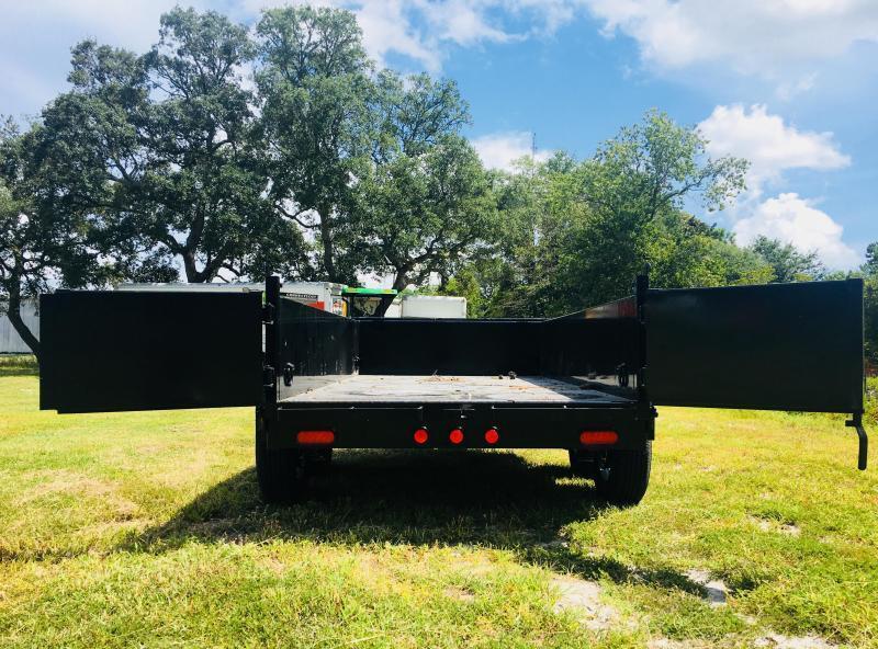 PJ Trailers D5102 (5' X 10') Dump Trailer with 7K GVWR
