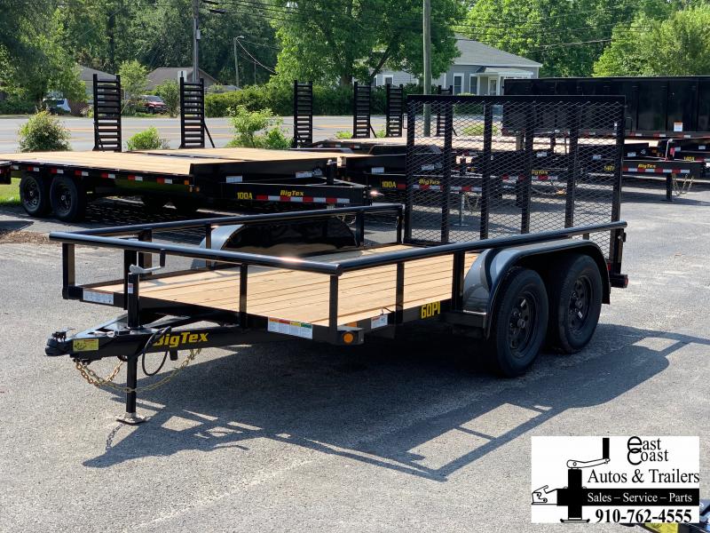 Big Tex Trailers 60PI (7' X 12') Tandem Axle Utility Trailer