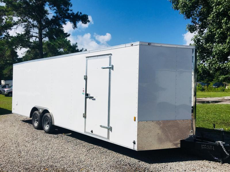 2018 Continental Cargo 8.5X24 CAR HAULER Car / Racing Trailer in Mc Coll, SC