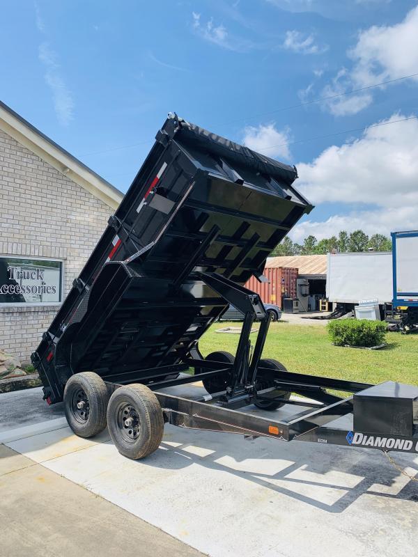 2019 Diamond C Trailers EDM 7X12 Dump Trailer