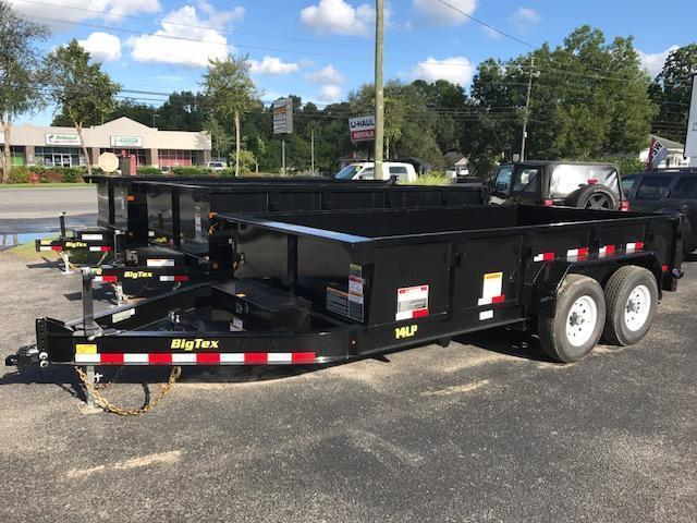 2018 Big Tex 14LP - 14' LOW PROFILE HD Dump Trailer