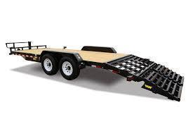 2019 Big Tex 10ET - 18' Equipment Trailer with Mega Ramps