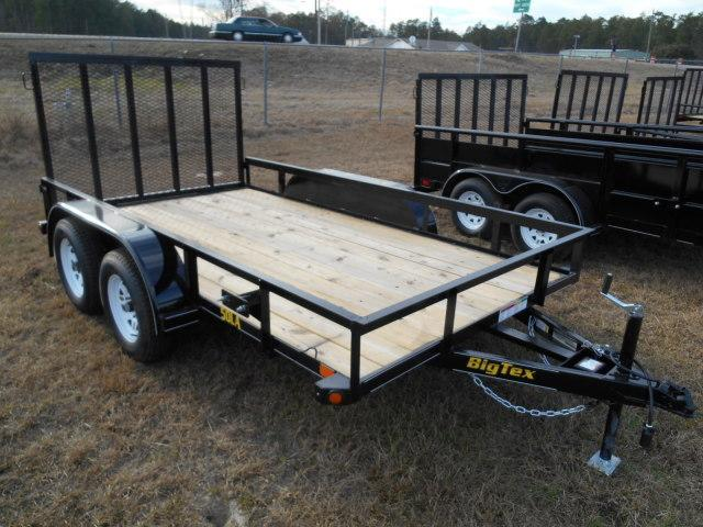 2017 Big Tex 50LA - 12' Tandem Axle Lightweight Trailer