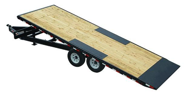 2018 PJ Trailers 22' Deckover Full Tilt Equipment Trailer