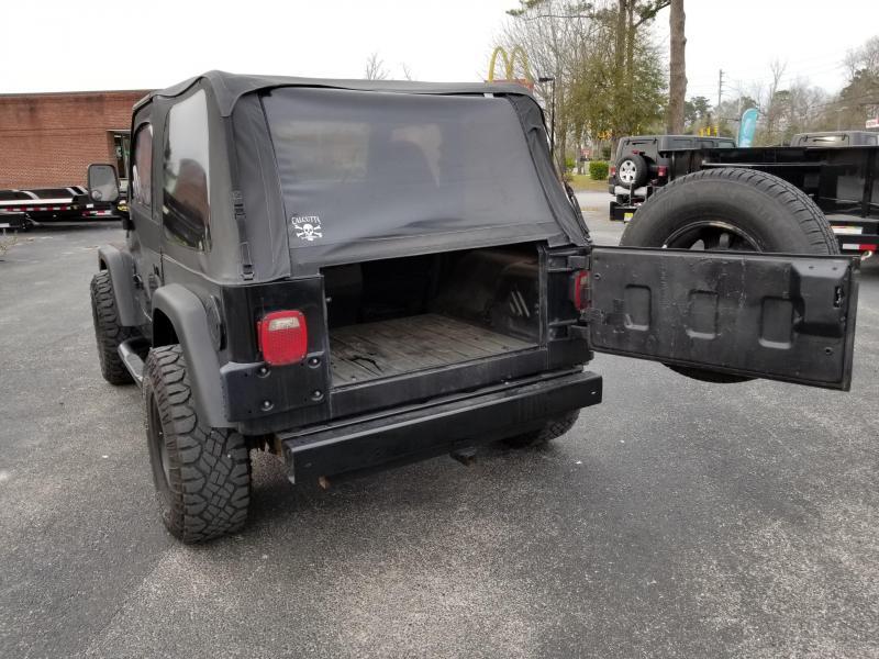 1997 Jeep WRANGLER SUV