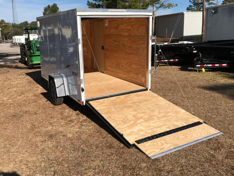 2018 Pace American 6 X 12 Single Axle Special Edition with .030 SKIN