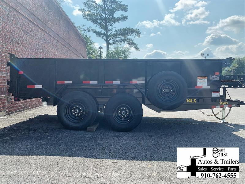 Big Tex 14LX (7' X 14') HD Dump Trailer with 14K GVWR