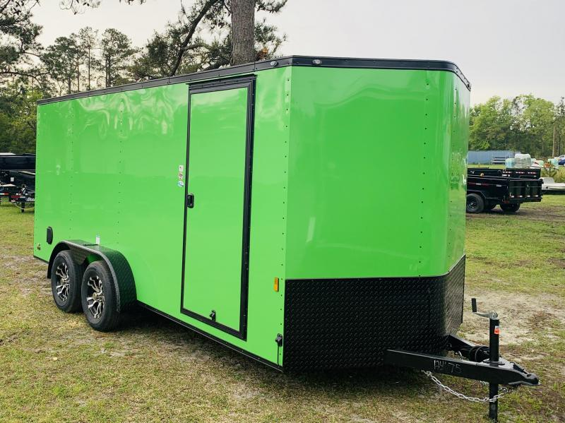 2019 Continental Cargo 7X16TA2 Enclosed Cargo Trailer