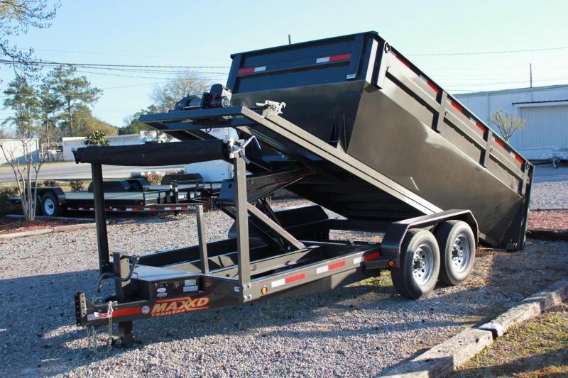 2017 Maxxd Trailers ROX8314 14' Roll-Off Dumpster Trailer ***PRICE INCLUDES 4 BINS***