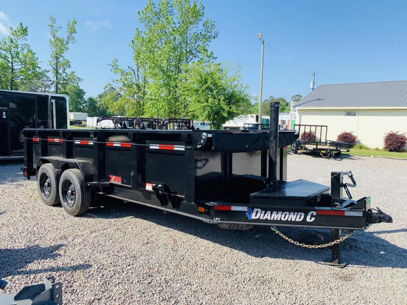 2019 Diamond C Trailers LPT 208 Dump Trailer