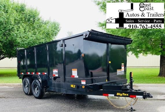2019 Big Tex Trailers 14LX-14' Dump Trailer WITH 4' High Sides