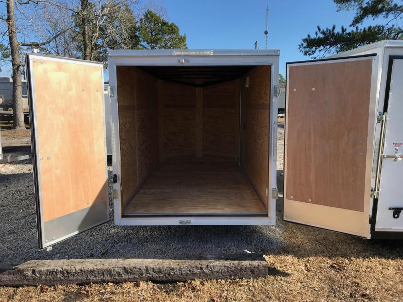 2018 Pace American 6 X 12 Single Axle Special Edition with .030 SKIN & BARN DOORS
