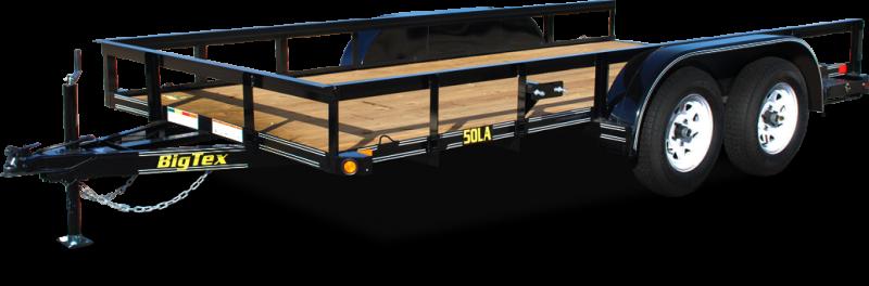 2018 Big Tex 50LA - 14' Tandem Axle Lightweight Trailer