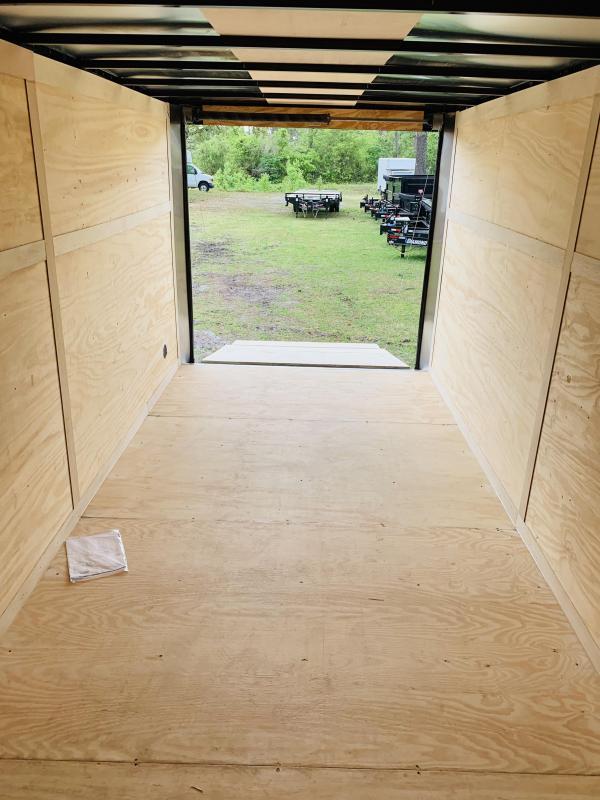 2019 Continental Cargo 7X16TA2 Enclosed Cargo Trailer