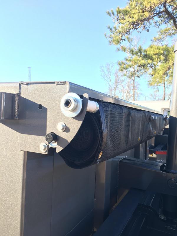 """2018 Diamond C Trailers 14' Low Profile Super Heavy Duty 7 GA Steel Dump Trailer with Trunnion Hoist & 24"""" side walls"""