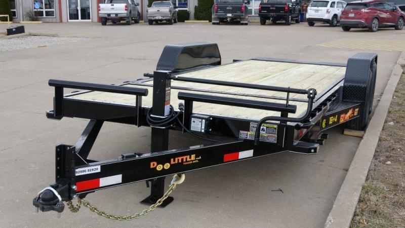 2019 Doolittle Trailer Mfg 82 X 20 14K HD T/A CF Equipment Trailer