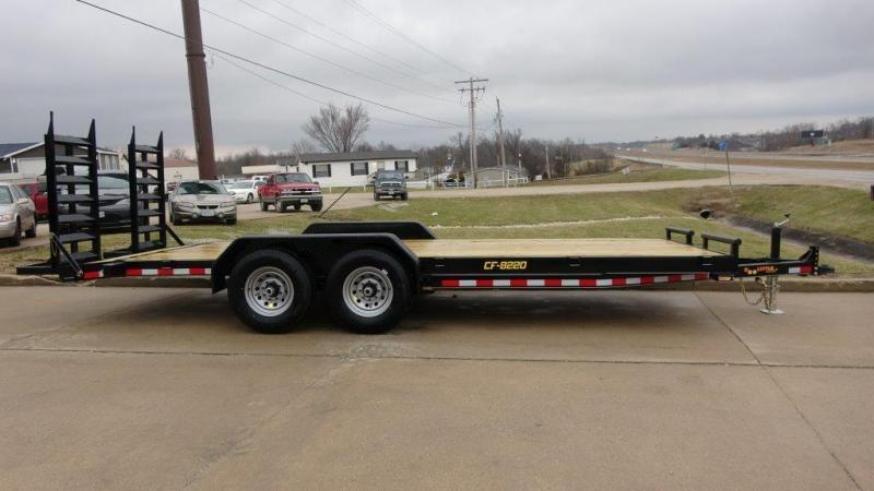2019 Doolittle Trailer Mfg 82 X 20 14K HD T/A CF Equipment Trailer