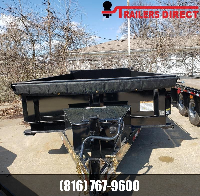 2019 Doolittle Trailer Mfg 82 X 14 Dump Trailer