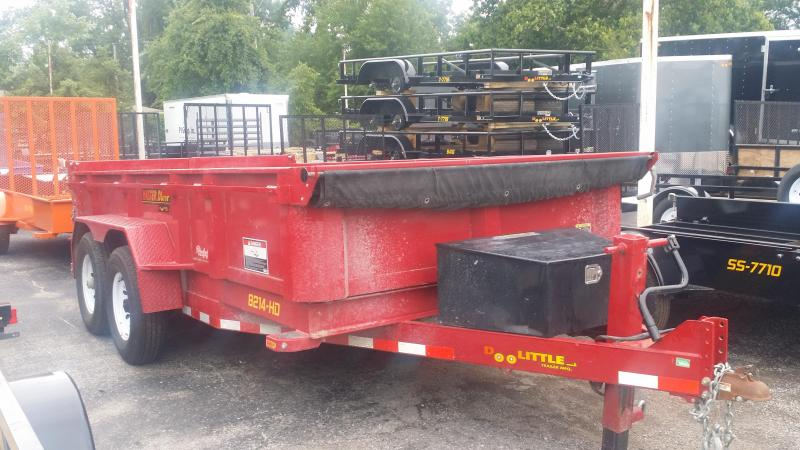 RENTAL TRAILER FROM TRAILERS DIRECT OF KC STARTING AS LOW AS $125.00 A DAY2018 Doolittle Trailer Mfg 82 x 14 Dump Trailer