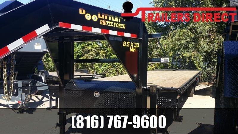 2019 Doolittle Trailer Mfg 102 X 30 BruteForce Equipment Trailer