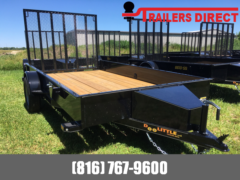 2019 Doolittle Trailer Mfg 77 X 16 SS Utility Trailer