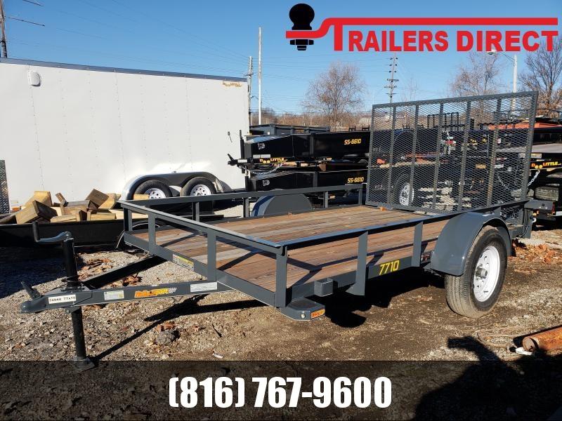 2018 Doolittle Trailer Mfg 77 X 10 RS Utility Trailer