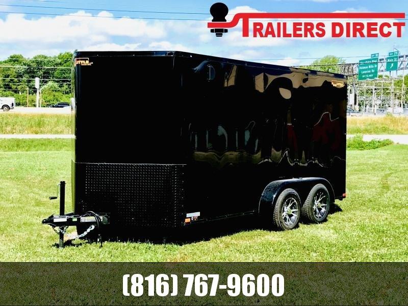 2019 Doolittle Trailer Mfg 7 X 14 Blackout Package Enclosed Cargo Trailer