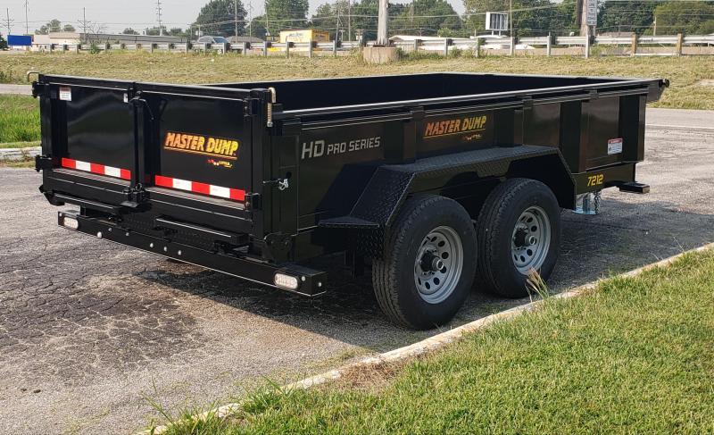 2020 Doolittle Trailer Mfg 72 x 12 Dump Trailer