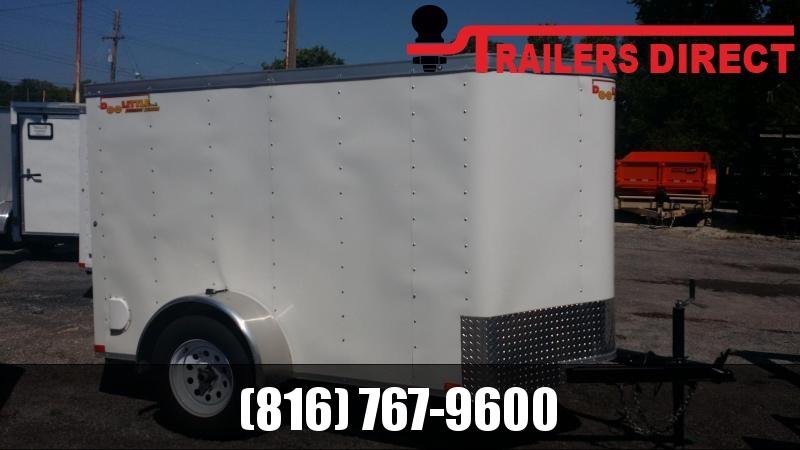 2018 Doolittle Trailer Mfg 5 X 8 Enclosed Cargo Trailer