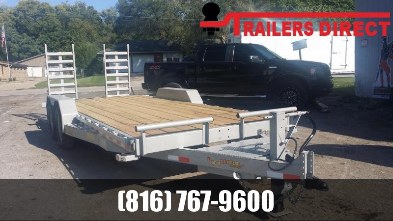 2019 Doolittle Trailer Mfg 82 X 20 Equipment Trailer
