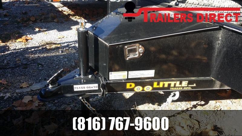 2018 Doolittle Trailer Mfg 66 x 10 SS Utility Trailer