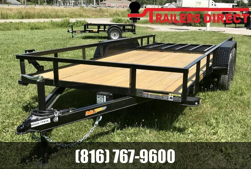 2020 Doolittle Trailer Mfg 77 X 16 RS Utility Trailer