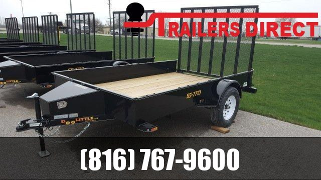 2019 Doolittle Trailer Mfg 77 X 10 SS Utility Trailer