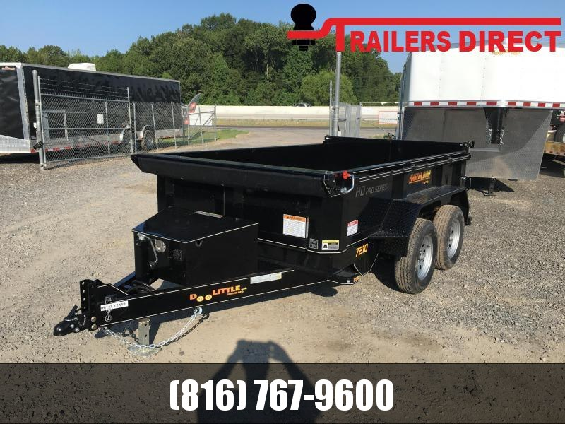 2020 Doolittle Trailer Mfg 72 X 10 Dump Trailer