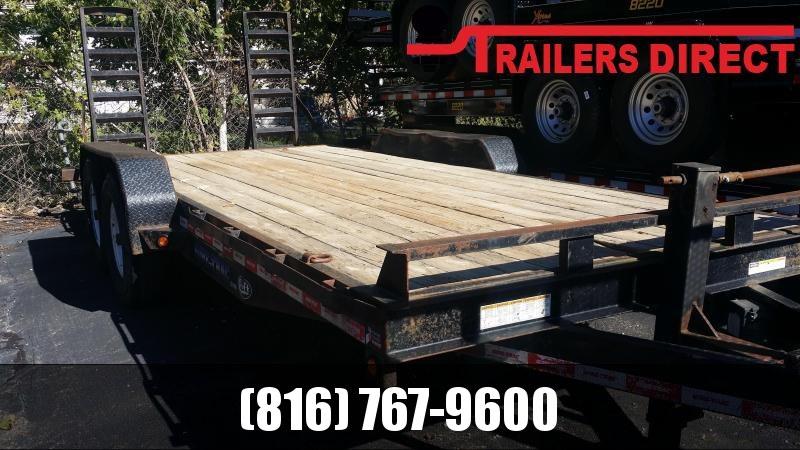 2012 Sure-Trac 82 X 20 Equipment Trailer