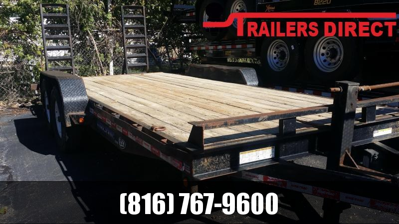 2012 Sure-Trac 82 X 20 Equipment Trailer in Ashburn, VA