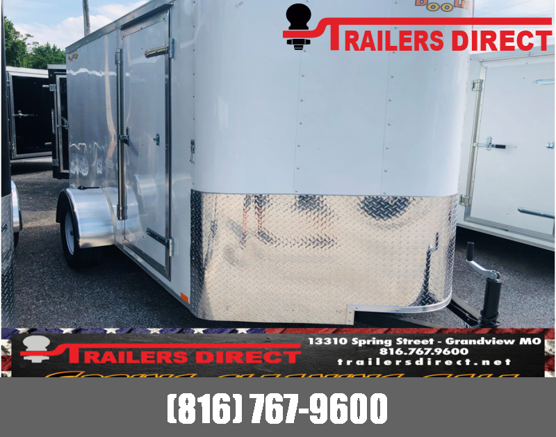 6 X 12 Doolittle Trailer Mfg 2019 Enclosed Cargo Trailer