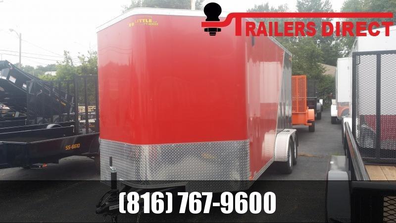 2018 Doolittle Trailer Mfg 7 X 16 Enclosed Cargo Trailer