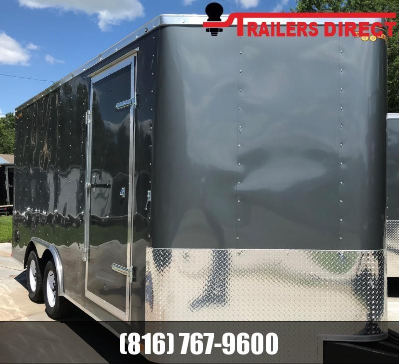 2019 Doolittle Trailer Mfg 8.5 X 16 Enclosed Cargo Trailer