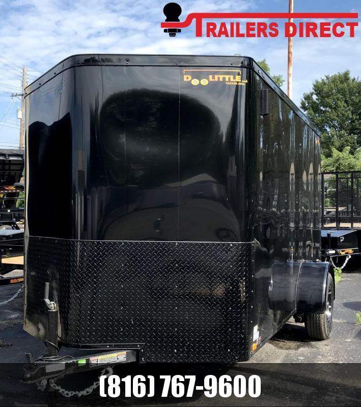 2020 Doolittle Trailer Mfg 6 X 12 **BLACKOUT PACKAGE** Enclosed Cargo Trailer