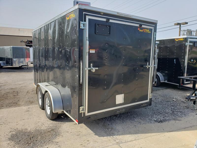 2017 Doolittle Trailer Mfg 7 x 14 Enclosed Cargo Trailer
