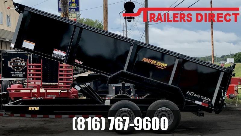 2020 Doolittle Trailer Mfg 82 X 16 Master Dump Dump Trailer