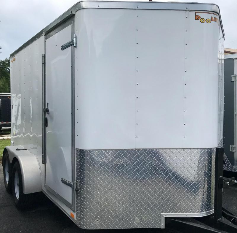 2019 Doolittle Trailer Mfg 7 X 12 Enclosed Cargo Trailer
