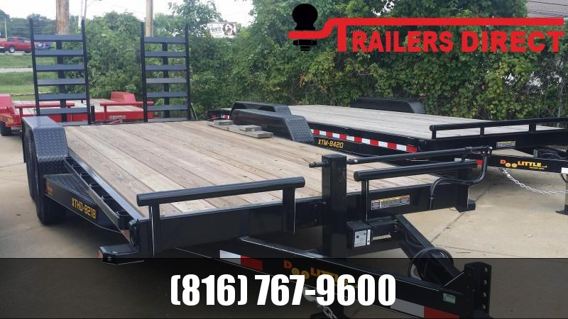 2018 Doolittle Trailer Mfg 82 X 18 Equipment Trailer