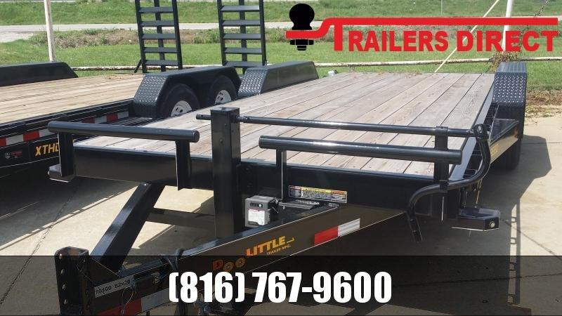 2018 Doolittle Trailer Mfg 82 x 20 Equipment Trailer